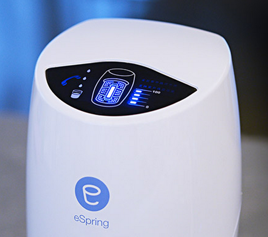 El mejor filtro de agua para el hogar se llama eSpring